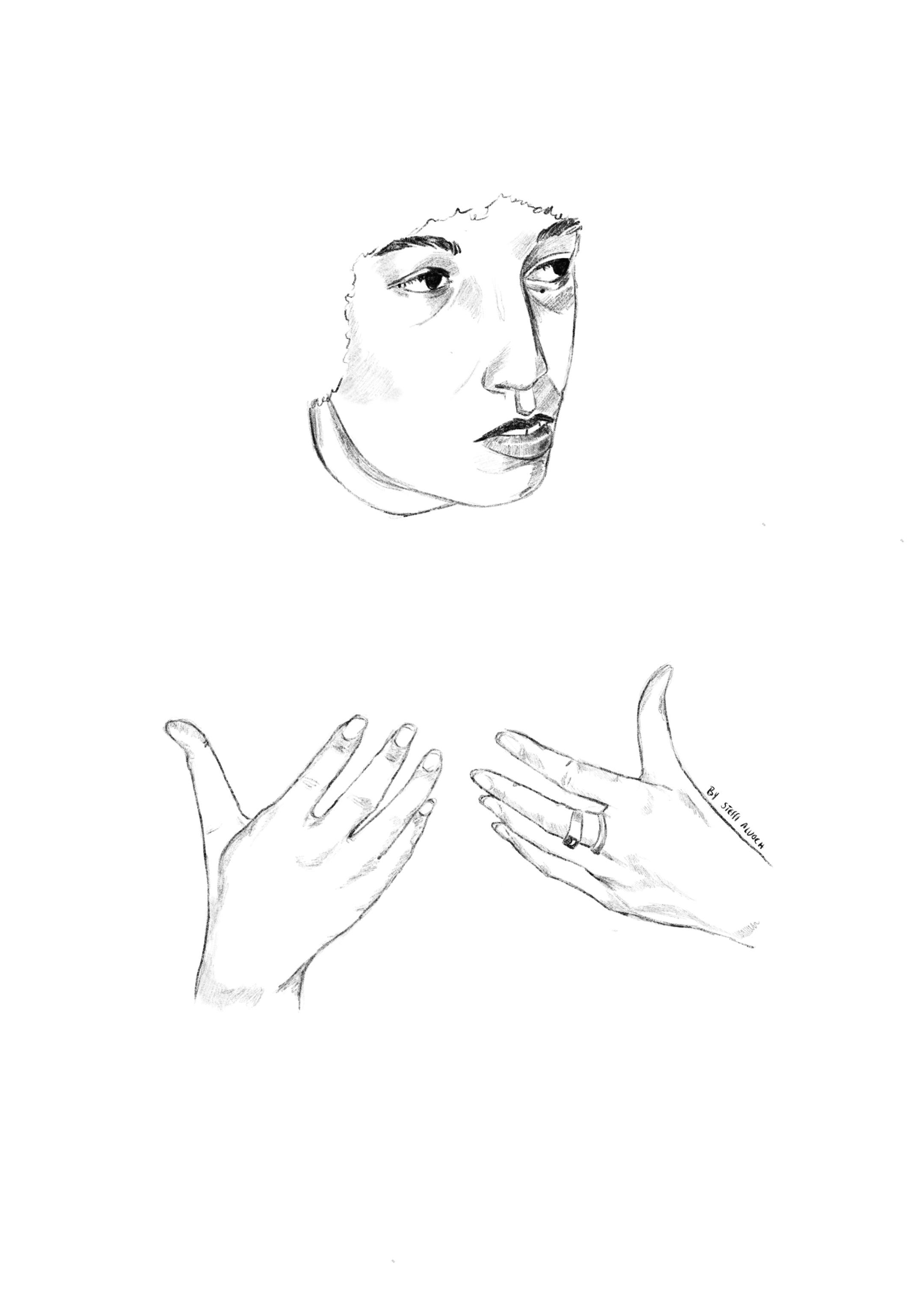Full sketchangeladavis
