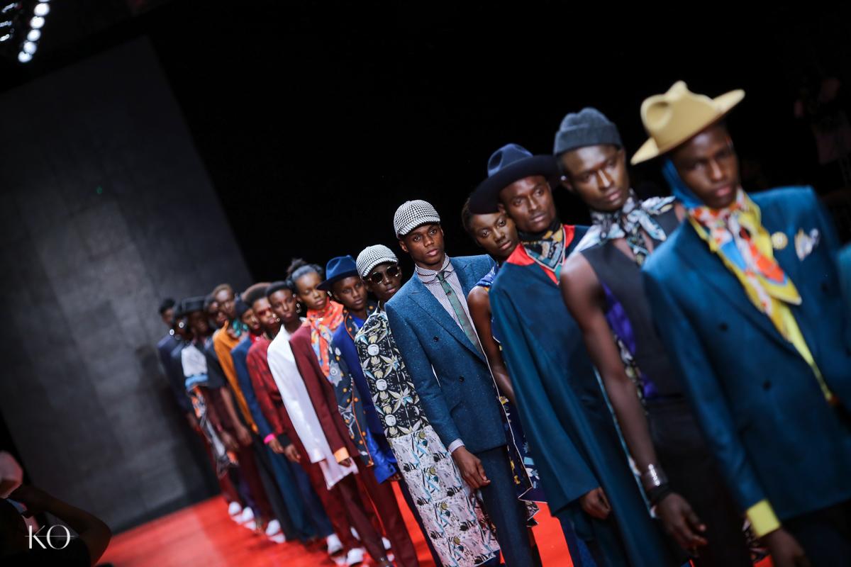 Full arise fashion week 2018 ozwald boateng 47